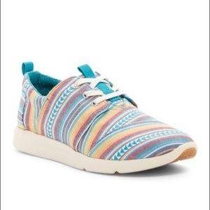 Toms | Del Rey Multi Blanket Stripe Sneakers